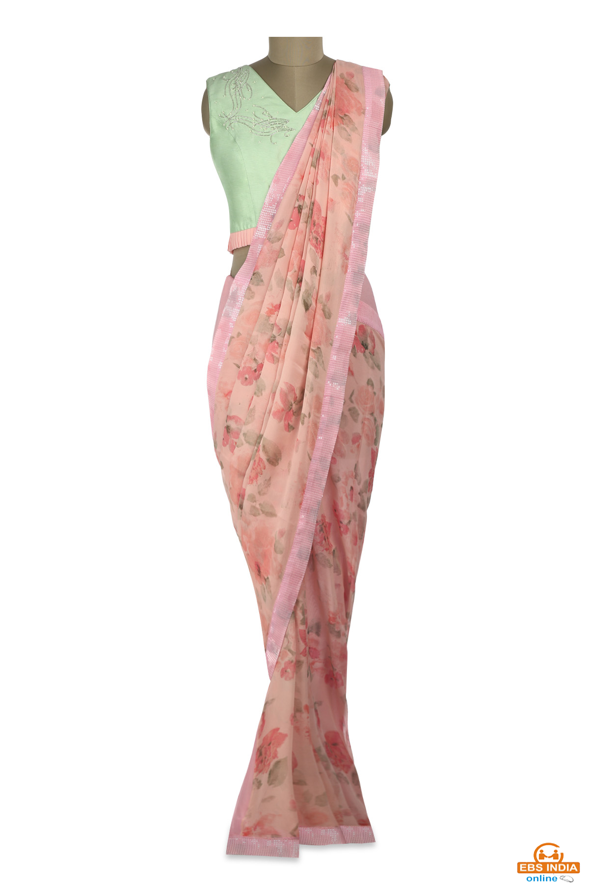 Shop For Beautiful & Traditional Sarees From TheHLabel!